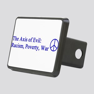 axis_evil_blue Rectangular Hitch Cover