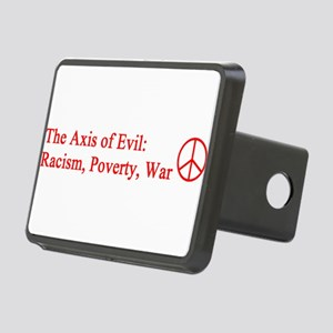 axis_evil_red Rectangular Hitch Cover
