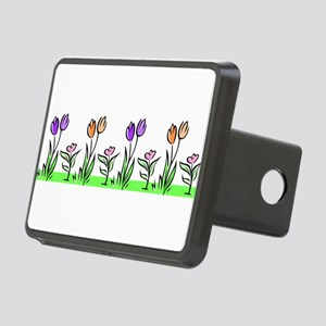 j0398227_tulips pastel Rectangular Hitch Cover