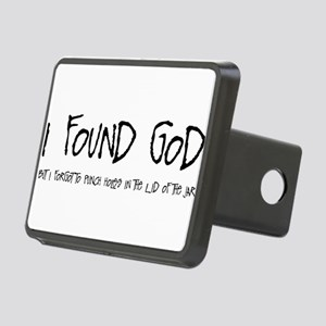 IFOUNDGOD Rectangular Hitch Cover