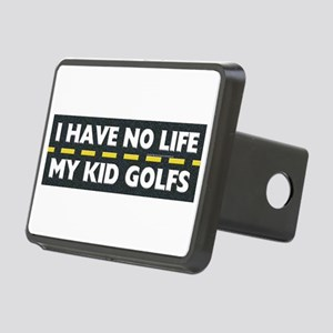 My Kid Golfs Rectangular Hitch Cover