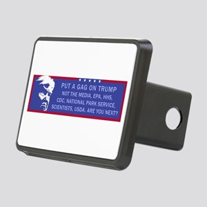 Put a Gag On Trump, Not th Rectangular Hitch Cover