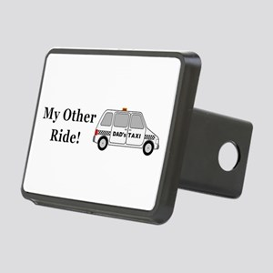 Dads Taxi My Other Ride Rectangular Hitch Cover