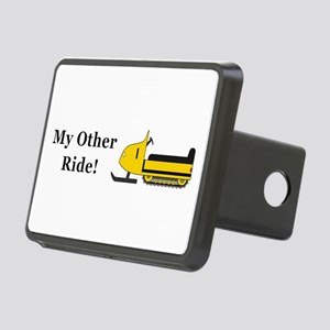 Snowmobile Other Ride Rectangular Hitch Cover
