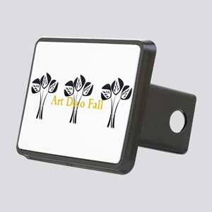 Art Deco Style Floral Hitch Cover