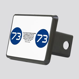 Sheldon Cooper 73 Prime Number Quote Hitch Cover