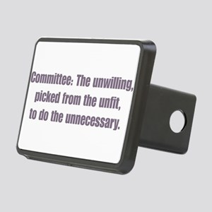 comittee Rectangular Hitch Cover