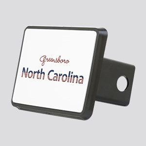 Custom North Carolina Rectangular Hitch Cover