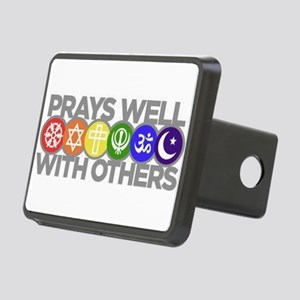 Prays Well Rectangular Hitch Cover