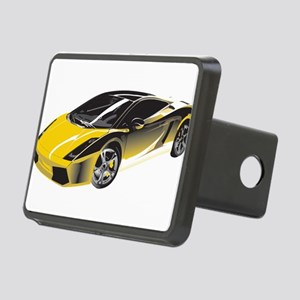 Sports Car Rectangular Hitch Cover