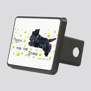 Scotties I heart Rectangular Hitch Cover