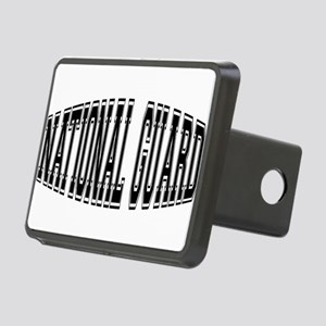 nationalguardbulge Rectangular Hitch Cover