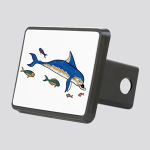 Knossos Dolphin Rectangular Hitch Cover