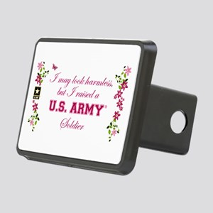 I Raised A Soldier Rectangular Hitch Cover
