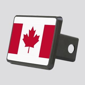Canadian Flag Rectangular Hitch Cover