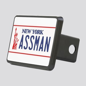 Assman License Plate Rectangular Hitch Cover
