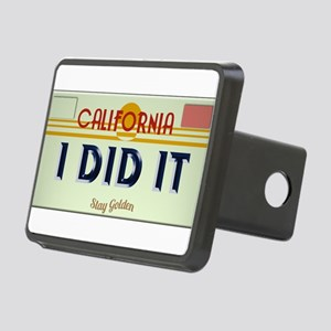 I Did It Plate Hitch Cover