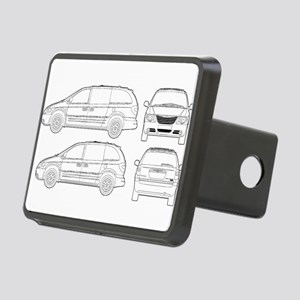 Chrysler Voyager Rectangular Hitch Cover