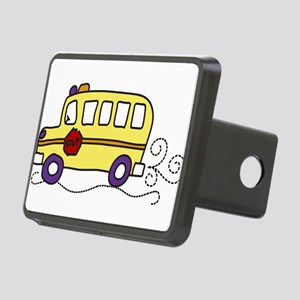School Bus Rectangular Hitch Cover