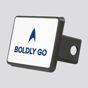 Boldly Go Star Trek Rectangular Hitch Cover