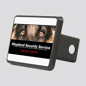 security Rectangular Hitch Cover