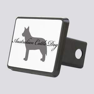 11-greysilhouette Rectangular Hitch Cover