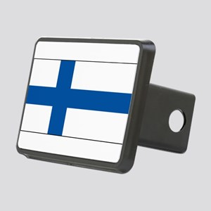Finlandblank Rectangular Hitch Cover