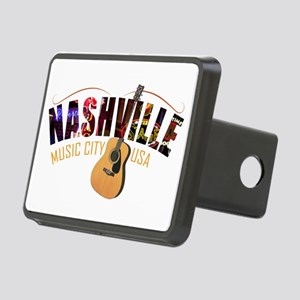 Nashville TN Music City US Rectangular Hitch Cover