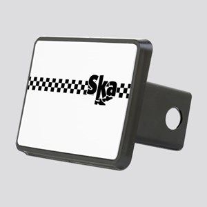 Ska Dancing Feet with Checkers Rectangular Hitch C