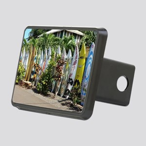 Surf board fence on Maui Rectangular Hitch Cover