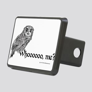 Who Owl Rectangular Hitch Cover