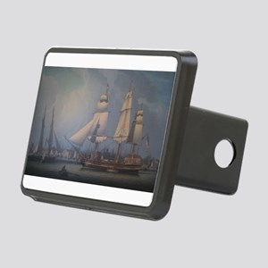 Wharves of Boston Rectangular Hitch Cover