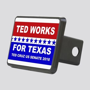 Ted works for Texas Rectangular Hitch Cover