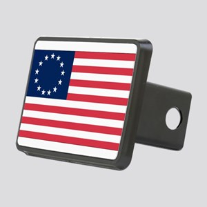 Betsy Ross flag Rectangular Hitch Cover
