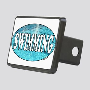 SWIMMING water Rectangular Hitch Cover