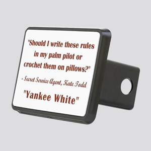 YANKEE WHITE Hitch Cover
