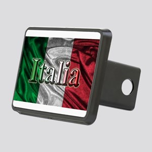 Italian Flag Graphic Hitch Cover