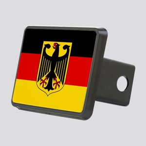 German Eagle Flag Rectangular Hitch Cover