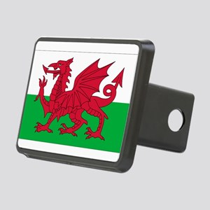 Flag of Wales Rectangular Hitch Cover