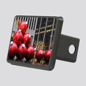 Christmas Ball Ornaments Rectangular Hitch Cover