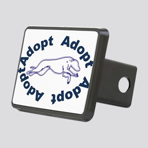 adopt blue v2.0 Rectangular Hitch Cover