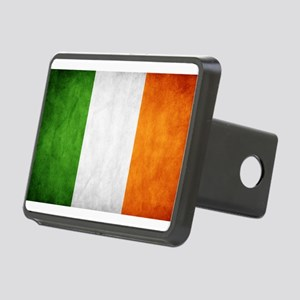 antiqued Irish flag Hitch Cover