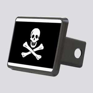 Jolly Roger Rectangular Hitch Cover