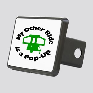 Pop-Up Rectangular Hitch Cover