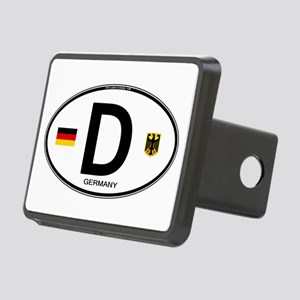 Germany Euro Oval Rectangular Hitch Cover