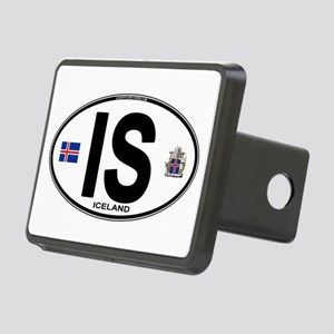 iceland-oval Rectangular Hitch Cover