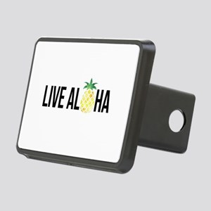 Live Aloha Rectangular Hitch Cover
