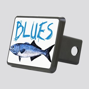 blues Rectangular Hitch Cover