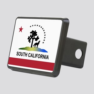 Flag of South California Rectangular Hitch Cover