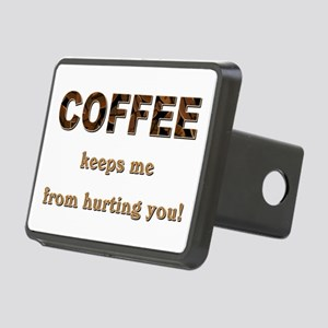COFFEE KEEPS ME... Hitch Cover